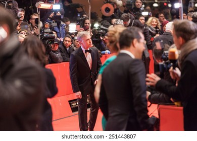 BERLIN, GERMANY - FEBRUARY 05: Actor Christoph Walz attends the 'Nobody Wants the Night' (Nadie quiere la noche) premiere and Opening Ceremony of the 65th Berlinale  on February 5, 2015 in Berlin