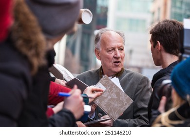 BERLIN, GERMANY - FEBRUARY 06:  the director Werner Herzog attends the 'Queen of the desert' photocall during the 65th Berlinale International Film Festival on February 6, 2015 in Berlin, Germany.