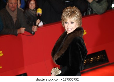 BERLIN, GERMANY - FEBRUARY 08: Jane Fonda attends 'Promised Land' Premiere during the 63rd Berlinale International Film Festival at Berlinale Palast on February 8, 2013 in Berlin, Germany