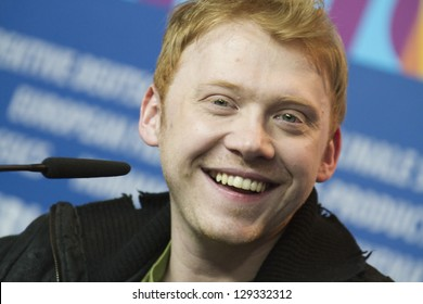 BERLIN, GERMANY - FEBRUARY 09: Rupert Grint attends the 'The Neccessary Death of  Countryman' Press Conference during the 63rd Berlinale Festival at Hyatt Hotel on February 9, 2013 in Berlin, Germany.