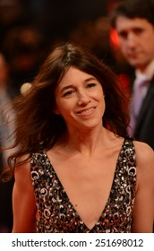 "BERLIN - GERMANY - FEBRUARY 10: Charlotte Gainsbourg at the 65rd Annual Berlinale International Film Festival ""Every Thing Will Be Fine"" at Berlinale Palast on February 10, 2015 in Berlin, Germany"