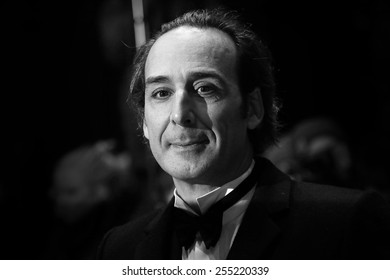 BERLIN, GERMANY - FEBRUARY 10: Composer Alexandre Desplat attends the 'Every Thing Will Be Fine'  during the 65th Berlinale Festival at Berlinale Palace on February 10, 2015 in Berlin, Germany.