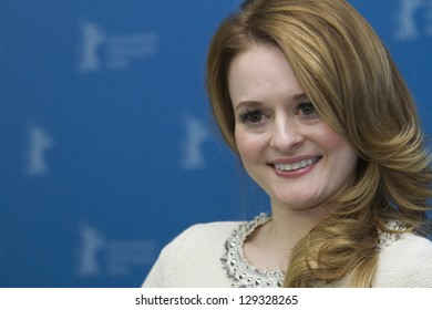 BERLIN, GERMANY - FEBRUARY 10:  Fallon Goodson attends the 'Maladies' Photocall during the 63rd Berlinale International Film Festival at the Grand Hyatt Hotel on February 10, 2013 in Berlin, Germany.