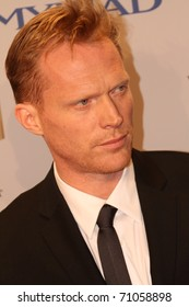 BERLIN, GERMANY - FEBRUARY 11: Paul Bettany arrives for the 'Margin Call' - party during day two of the 61st Berlin International Film Festival at San Nicci on February 11, 2011 in Berlin, Germany.