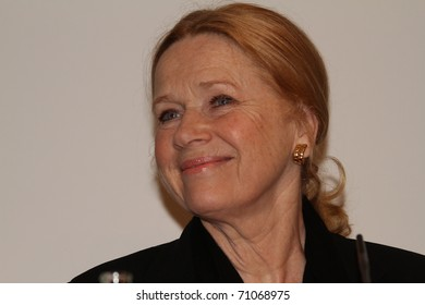 BERLIN, GERMANY - FEBRUARY 12: Actress Liv Ullmann attends the  during  Retrospective Ingmar Bergman of the 61st Berlin  Film Festival at the Kinemathek on February 12, 2011 in Berlin, Germany