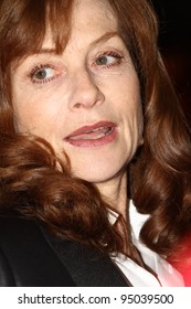 BERLIN, GERMANY - FEBRUARY 12: Actress Isabelle Huppert attends the 'Captive' Premiere during of the 62nd Berlin International  Festival at the Berlinale Palast on February 12, 2012 in Berlin, Germany