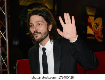 "BERLIN - GERMANY - FEBRUARY 12: Diego Luna at the 64th Annual Berlinale International Film Festival ""Cesar Chavez"" premiere at Friedrichstadt Palast on February 12, 2014 in Berlin, Germany."