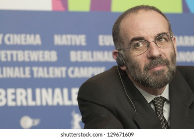 BERLIN, GERMANY - FEBRUARY 12: Giuseppe Tornatore attends the 'The Best Offer' press conference  during the 63rd  Festival at the Grand Hyatt Hotel on February 12, 2013 in Berlin, Germany.