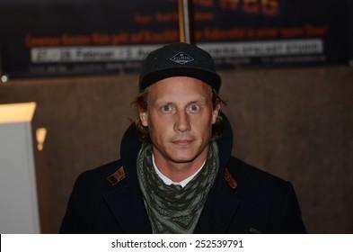 BERLIN - GERMANY - FEBRUARY 12: Patrick Kalupa at 99Fire-Films-Award at Admiralspalast on February 12, 2015 in Berlin, Germany