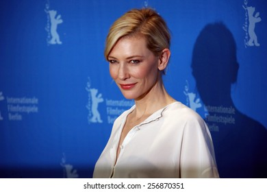 BERLIN, GERMANY - FEBRUARY 13: Cate Blanchett attends the 'Cinderella' photocall during the 65th Berlinale International Film Festival at Grand Hyatt Hotel on February 13, 2015 in Berlin, Germany.