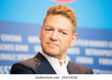 BERLIN, GERMANY - FEBRUARY 13: Director Kenneth Branagh, 'Cinderella' press conference, 65th Berlinale International Film Festival at Grand Hyatt Hotel on February 13, 2015 in Berlin, Germany