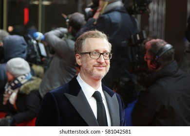 Berlin, Germany - February 14, 2017: James Gray, director of the movie The Lost City of Z, on red carpet during the 67th Berlinale International Film Festival Berlin