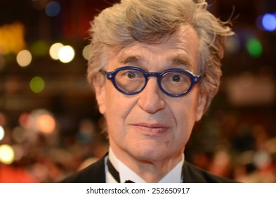 "BERLIN - GERMANY - FEBRUARY 14: Wim Wenders at the 65rd Annual Berlinale International Film Festival ""Abschlussgala"" at Berlinale Palast on February 14, 2015 in Berlin, Germany"