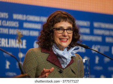 Berlin, Germany - February 15, 2016  - Director Rebecca Miller  attends the 'Maggie's Plan' press conference during the 66th Berlinale International Film Festival