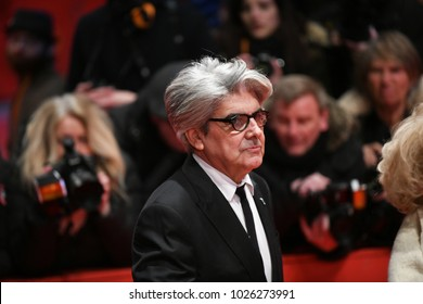 Berlin, Germany - February 15, 2018: Jury Member Spanish director Chema Prado  attends the Opening Ceremony and the 'Isle of Dogs' premiere during the 68th Berlinale International Film Festival Berlin