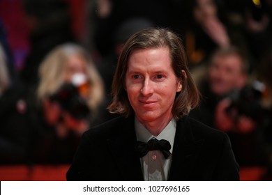 Berlin, Germany - February 15, 2018: American film director Wes Anderson attends the 'Isle of Dogs' premiere during the 68th Berlinale International Film Festival Berlin 2018