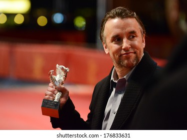 BERLIN - GERMANY - FEBRUARY 15: Richard Linklater at the 64th Annual Berlinale International Film Festival Closing Ceremony at Berlinale Palast on February 15, 2014 in Berlin, Germany.