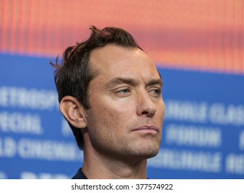 Berlin, Germany - February 16, 2016  - Actor Jude Law attends the 'Genius' press conference during the 66th Berlinale International Film Festival