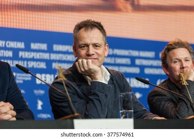Berlin, Germany - February 16, 2016  - Director Michael Grandage attends the 'Genius' press conference during the 66th Berlinale International Film Festival