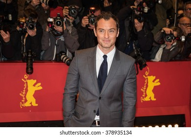 Berlin, Germany - February 16, 2016  - Actor Jude Law attends the 'Genius' premiere during the 66th Berlinale International Film Festival