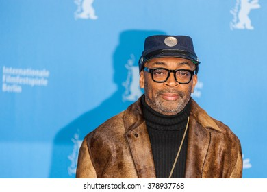 Berlin, Germany - February 16, 2016  - Director Spike Lee attends the 'Chi-Raq' photo call during the 66th Berlinale International Film Festival