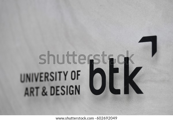 Berlin Germany February 17 2017 Btk Stock Photo Edit Now