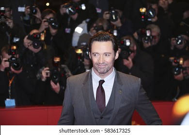 BERLIN, GERMANY - FEBRUARY 17: Actor Hugh Jackman attends the 'Logan' premiere during the 67th Berlinale Film Festival Berlin at Berlinale Palace on February 17, 2017 in Berlin, Germany.