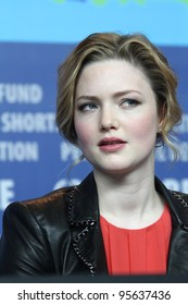 BERLIN, GERMANY - FEBRUARY 17: Holliday Grainger attends the 'Bel Ami' Press Conference during of the 62nd Berlin International Film Festival at the Grand Hyatt on February 17, 2012 in Berlin, Germany