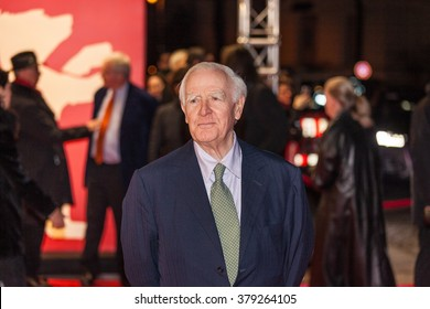 Berlin, Germany - February 18, 2016  - Writer John Le Carre attends the 'The Night Manager' premiere during the 66th Berlinale International Film Festival