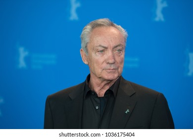 Berlin, Germany - February 20, 2018: German actor Udo Kier poses at the 'Don't Worry, He Won't Get Far on Foot' photo call during the 68th Berlinale International Film Festival Berlin 2018