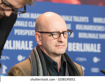 Berlin, Germany - February 21, 2018: American director Steven Soderbergh attends the 'Unsane' press conference during the 68th Berlinale International Film Festival Berlin at Grand Hyatt Hotel