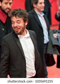 Berlin, Germany - February 22, 2018: Leonardo Ortizgris attends the 'Museum' (Museo) premiere during the 68th Berlinale International Film Festival Berlin at Berlinale Palast