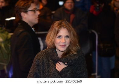 BERLIN - GERMANY - FEBRUARY 6: Felicitas Woll at Movie meets Media at Ritz Carlton Berlin on February 6, 2015 in Berlin, Germany
