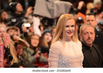 "BERLIN - GERMANY - FEBRUARY 6: Nicole Kidman at the 65rd Annual Berlinale International Film Festival ""Queen of the Desert"" at Berlinale Palast on February 6, 2015 in Berlin, Germany"