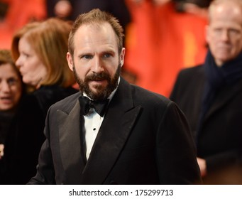 """BERLIN - GERMANY - FEBRUARY 6: Ralph Fiennes at the 64th Annual Berlinale International Film Festival """"The Grand Budapest Hotel"""" premiere at Berlinale Palast on February 6, 2014 in Berlin, Germany."""