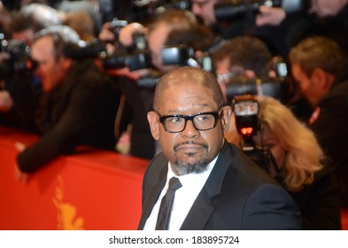 "BERLIN - GERMANY - FEBRUARY 7: Forest Whitaker at the 64rd Annual Berlinale International Film Festival ""Two Men in Town"" premiere at Berlinale Palast on February 7, 2014 in Berlin, Germany."