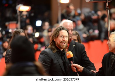 "BERLIN - GERMANY - FEBRUARY 8: Christian Bale at the 65rd Annual Berlinale International Film Festival ""Knight of Cups"" at Berlinale Palast on February 8, 2015 in Berlin, Germany"