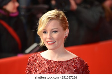 "BERLIN - GERMANY - FEBRUARY 8: Elizabeth Banks at the 65rd Annual Berlinale International Film Festival ""Love & Mercy"" at Friedrichstadt-Palast on February 8, 2015 in Berlin, Germany"