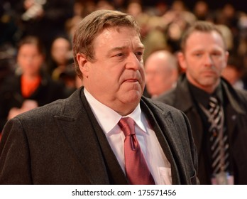 "BERLIN - GERMANY - FEBRUARY 8: John Goodman at the 64th Annual Berlinale International Film Festival ""The Monuments Men"" premiere at Berlinale Palast on February 8, 2014 in Berlin, Germany."