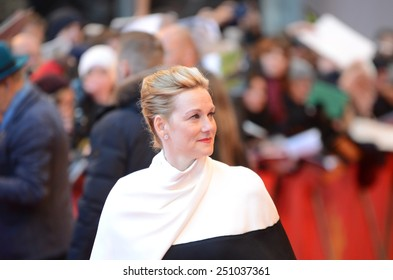 """BERLIN - GERMANY - FEBRUARY 8: Laura Linney at the 65rd Annual Berlinale International Film Festival """"Mr. Holmes"""" at Berlinale Palast on February 8, 2015 in Berlin, Germany"""