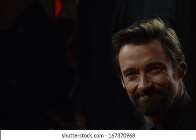 "BERLIN - GERMANY - FEBRUARY 9: Hugh Jackman at the 63rd Annual Berlinale International Film Festival ""Les Miserables"" premiere at Friedrichstadtpalast on February 9, 2013 in Berlin, Germany."