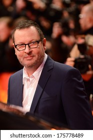 "BERLIN - GERMANY - FEBRUARY 9: Lars von Trier at the 64th Annual Berlinale International Film Festival ""Nymphomaniac Volume I"" premiere at Berlinale Palast on February 9, 2014 in Berlin, Germany."