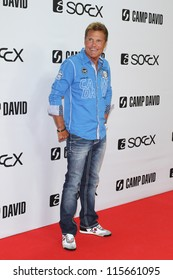 BERLIN, GERMANY - JULY 05: Dieter Bohlen attends the Camp David show during Mercedes-Benz Fashion Week Spring/Summer 2013 at Olympia Stadium on July 5, 2012 in Berlin, Germany.