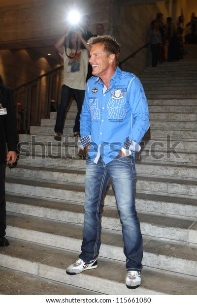 new concept a92c4 5549a Berlin Germany July 05 Dieter Bohlen Stock Photo (Edit Now ...