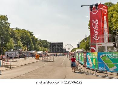 Fan Deutschland Fanschal Coca Cola WM Fußball EM 2016