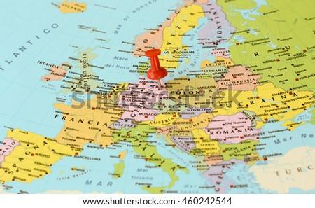 BERLIN GERMANY JULY 28 2016 Red Stockfoto (Jetzt bearbeiten ...