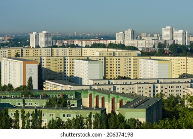 BERLIN, GERMANY - JUNE 06, 2014: Sleeping quarters of Berlin. District Ahrensfelde.