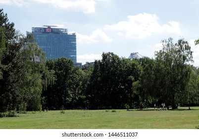 Berlin, Germany June 1 2019 City park Tiergarten