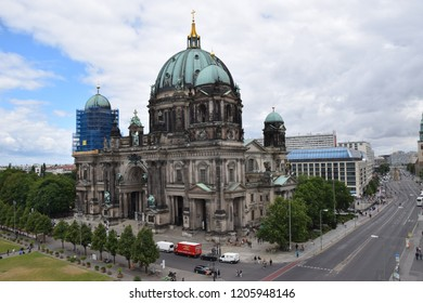 Berlin, Germany - June 23, 2018: Berlin Cathedral
