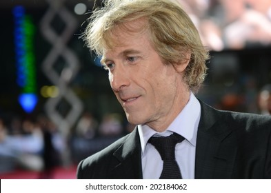 BERLIN - GERMANY - JUNE 29: Michael Bay at the European premiere from Transformer 4 - Age of Extinction at CineStar,Sony Center on June 29, 2014 in Berlin, Germany.